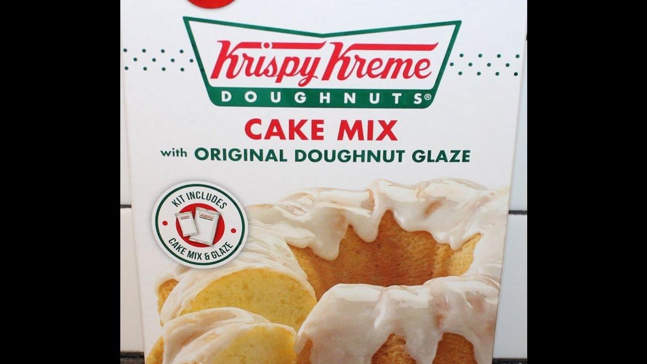 Betty Crocker Krispy Kreme Cupcakes YouTube