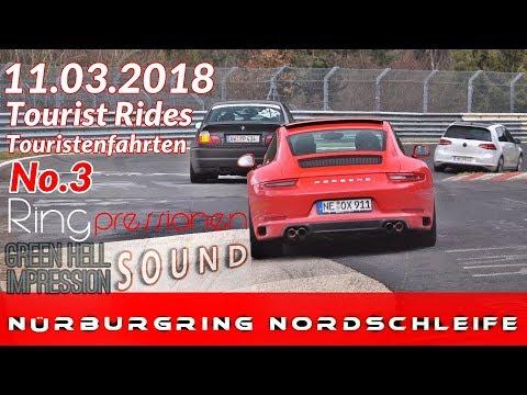 11.03.18 Nürburgring Nordschleife Touristenfahrten Grüne HölleN SOUND \o/ Green Hell #no crash No3