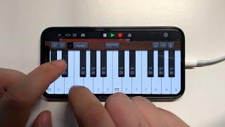 Eminem - Godzilla on iPhone (GarageBand)