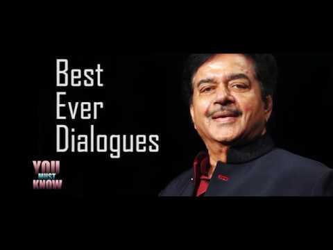 Shatrughan Sinha's Best Dialogues ! Shotgun at his Best .......