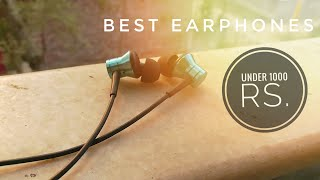 BEST EARPHONES Under Rs. 1,000 - 1More Piston Fit Review | HINDI