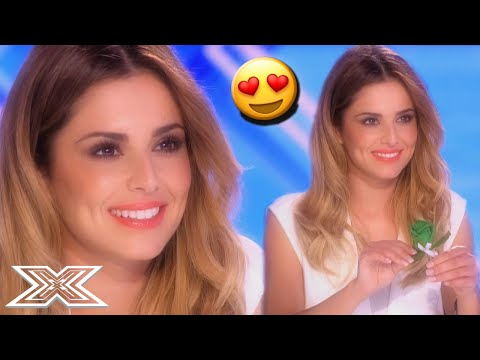 Contestant SERENADES Judge Cheryl During Audition | X Factor Global