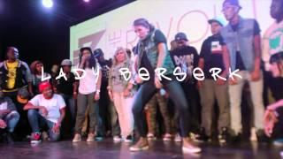 GIRL ROCKA &GIRL FLESH K' vs LADY DOOMSDAY & LADY BERSERK | THA REVOLUTION 8/3/13