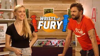 Nick Thune Tries To Mind F@#$ Kelsey Cook In Foosball: Wrists Of Fury
