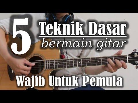 Video Cara Belajar Bermain Gitar Untuk Pemula
