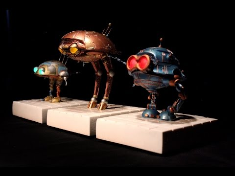 Batteries not included Replica Robots prop