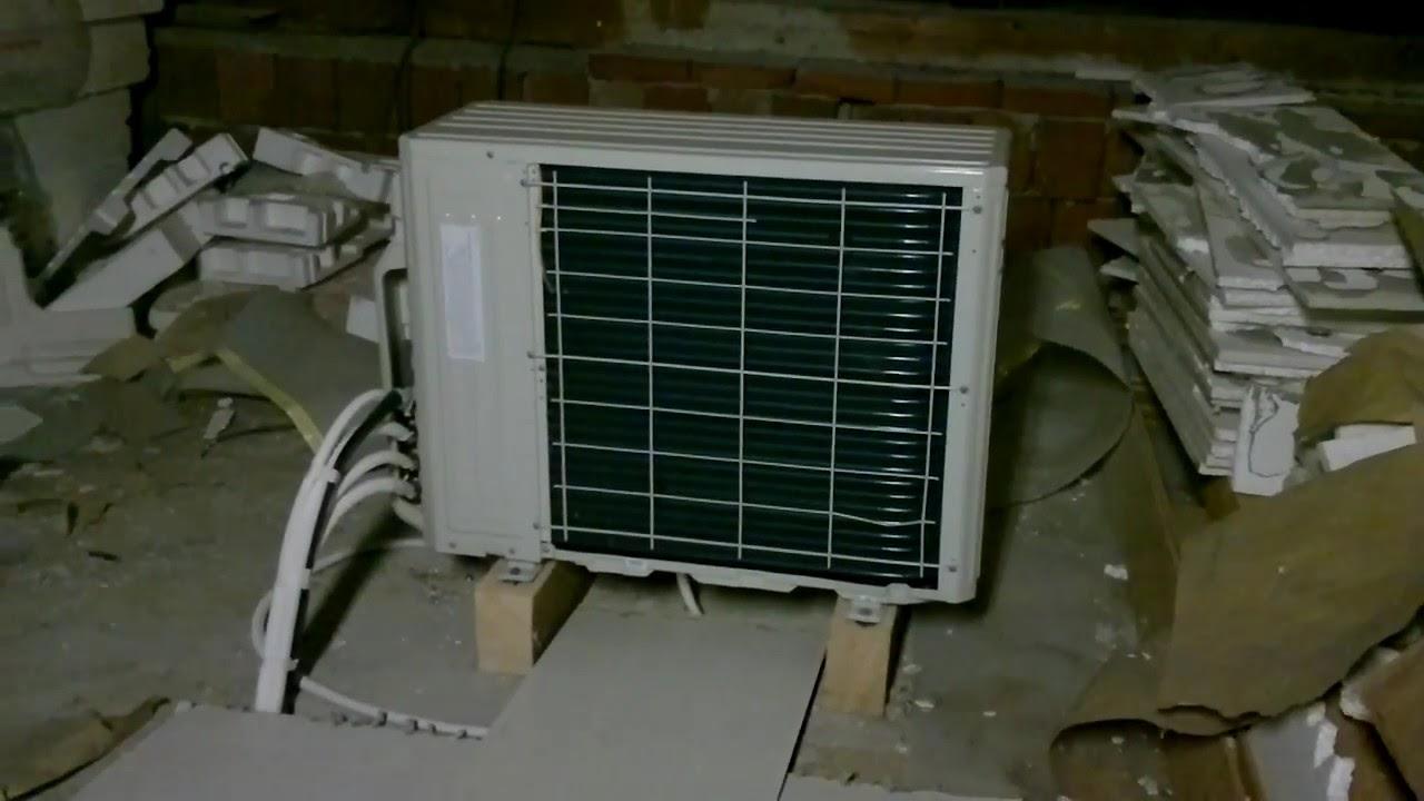 Umístění venkovní jednotky klimatizace