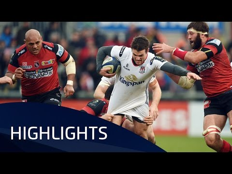 Ulster Rugby V Oyonnax (Pool 1) Highlights – 23.01.2016
