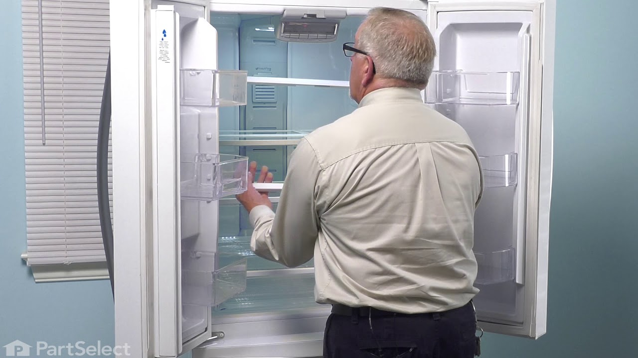 Whirlpool Refrigerator Repair >> Whirlpool Refrigerator Repair How To Replace The Air Filter