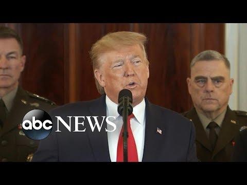 Trump addresses the