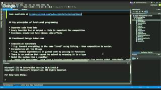 Code Review/Refactor Live with Scott Wlaschin