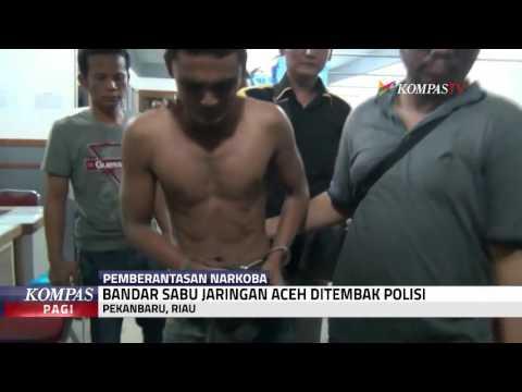 Bandar Sabu Jaringan Aceh Ditembak Polisi