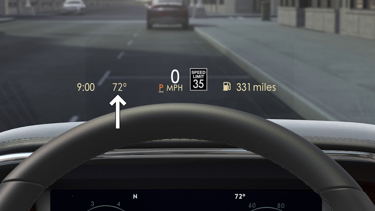 Navigator Head Up Display