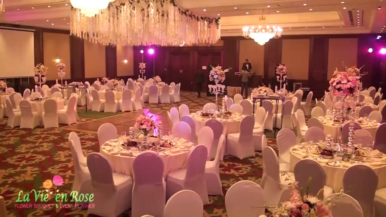 Wedding Setup At Jw Marriott Hotel Cairo Magnificent Day