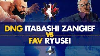 DNG Itabashi Zangief (Abigail) VS FAV Ryusei (Urien) - Canada Cup 2019 Pools - CPT 2019