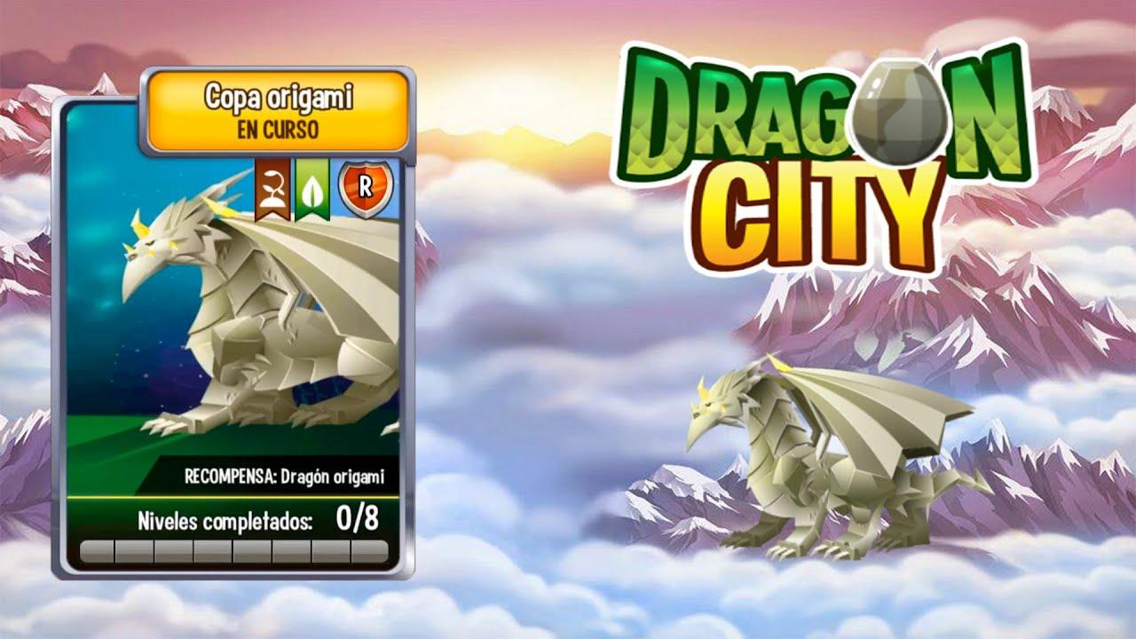 Dragon City l Coliseo l Copa Origami l Completa - YouTube - photo#30