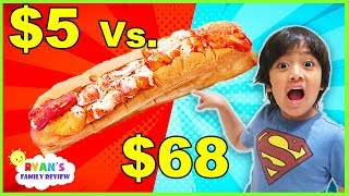 $5 Sandwich Vs.  $68 Sandwich!!! Worth it??????