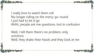 Enrique Bunbury - Watching the Wheels Lyrics