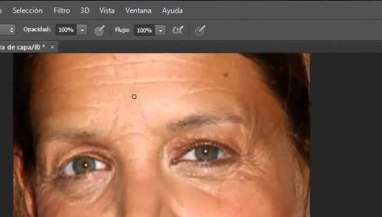 Como Quitar Las Arrugas Con Photoshop Cs6 2013 Youtube