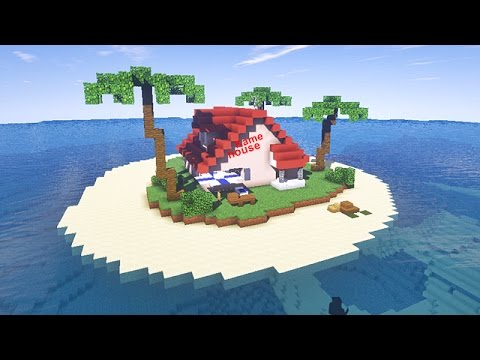 minecraft tuto kame house maison de tortue g niale youtube. Black Bedroom Furniture Sets. Home Design Ideas