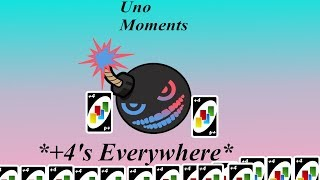 PLUS FOURS EVERYWHERE! (UNO Funny moments)