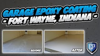 Garage Epoxy Coating - Fort Wayne, Indiana