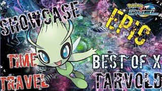 Showcase Celebi Time Travel Pokemon Duel
