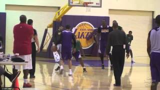 Lakers Thursday practice
