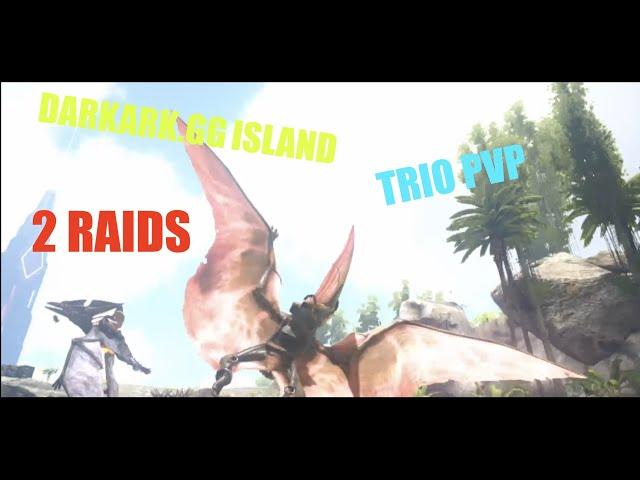 DARKARK.GG|| TRIO PVP|| 2 RAIDS