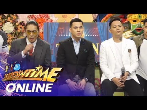 It's Showtime Online: John, Anton and Mark on their last performance