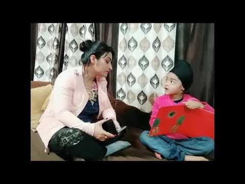 Punjabi Funny Video.. Ghar Da Banda