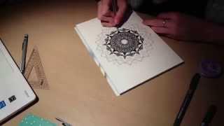 Mandala Speed Drawing // GameIst Inc