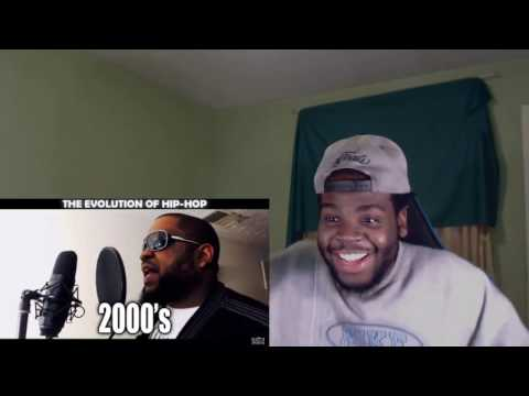 THE EVOLUTION OF HIP HOP REACTION!!
