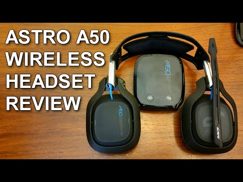 ASTRO A50 Wireless Headset Review