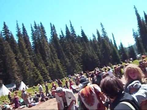 Rainbow Gathering 2011 Part 1 of 2