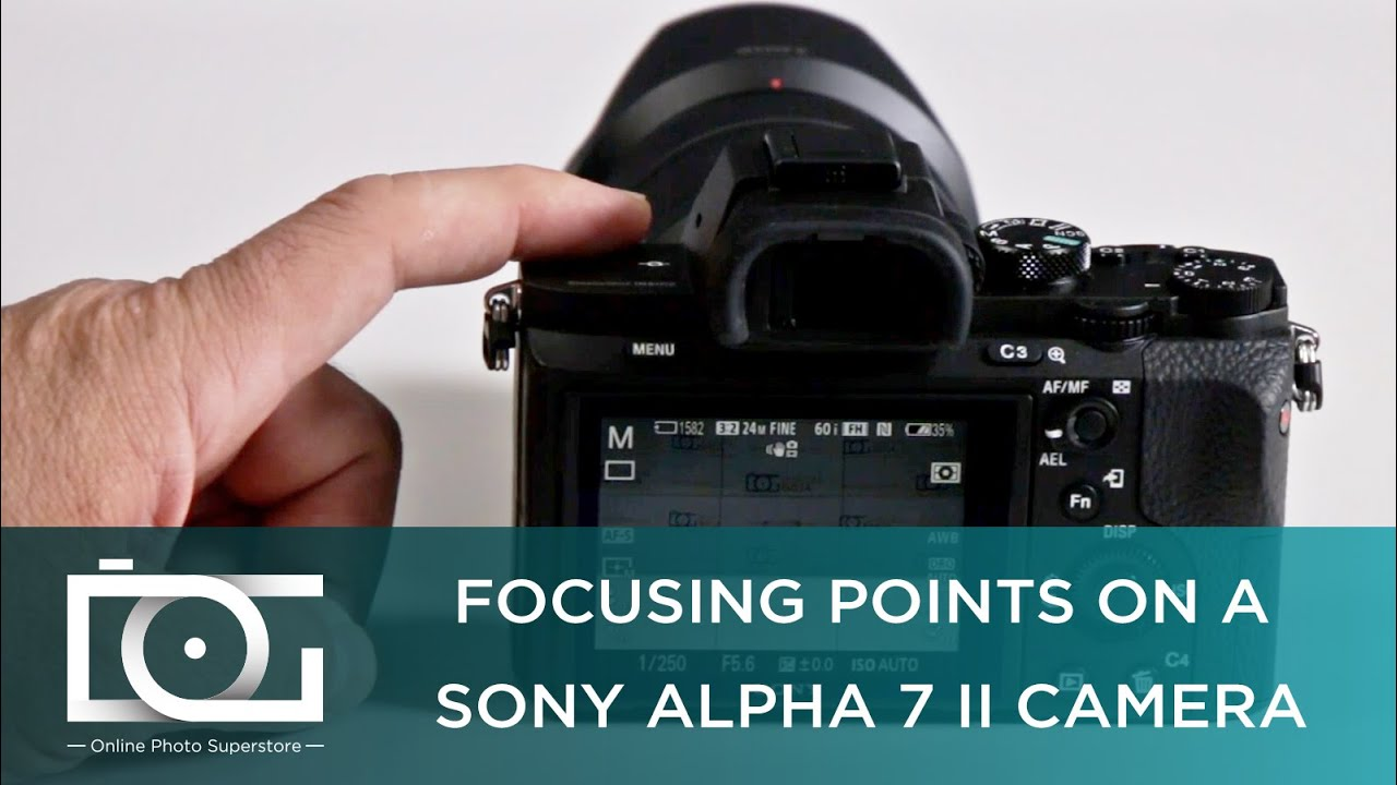 Sony a7ii focus points
