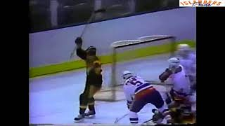 October 19 1982 Canucks at Islanders highlights