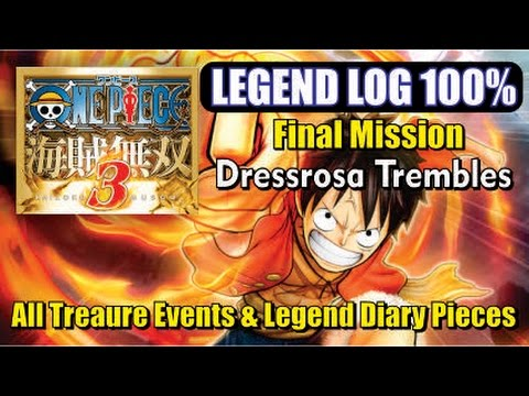 One Piece Pirate Warriors 3 - Legend Log 100% - Chapter 5.4 (Final Mission)