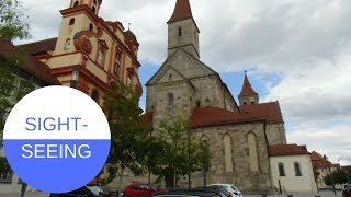 SIGHTSEEING in Ellwangen an der Jagst in GERMANY