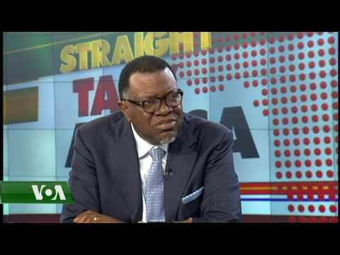 President Hage Geingob on poverty in Namibia