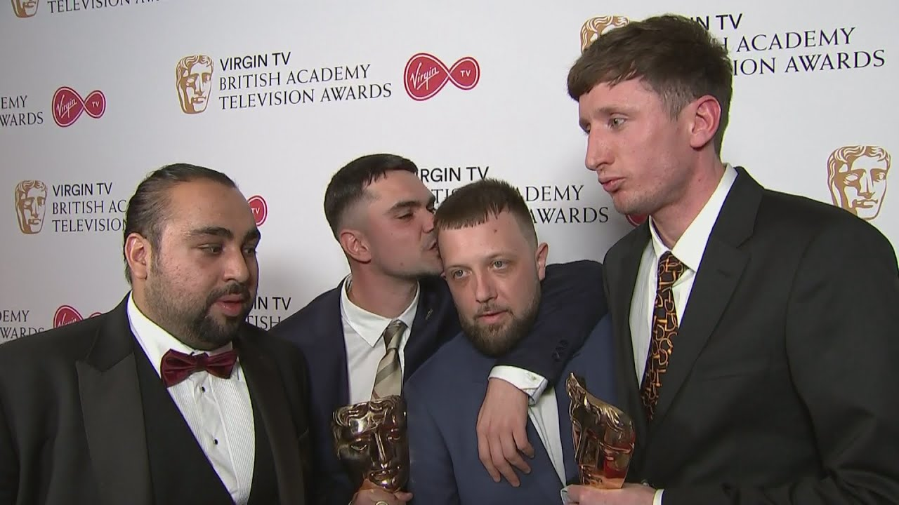 TV BAFTAs HILARIOUS People Just Do Nothing Stars Earning Hundreds Pro Rata