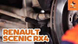 How to replace Brake pad set on RENAULT SCÉNIC I (JA0/1_) - video tutorial