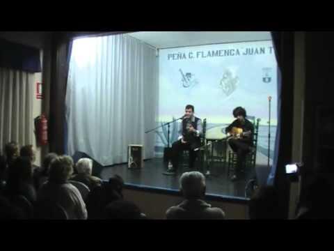 Mario Radío y Marcos Serrato por bulerías.