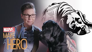 Charlie the Angel Dog | Marvel Make Me a Hero