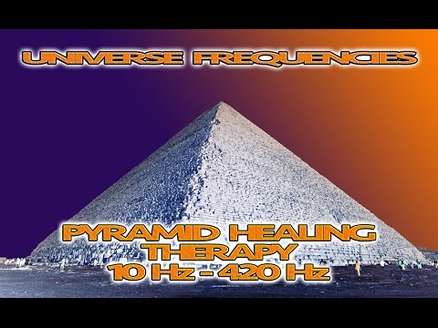 1h Meditation Music - Pyramid Healing Therapy - Universe Frequencies