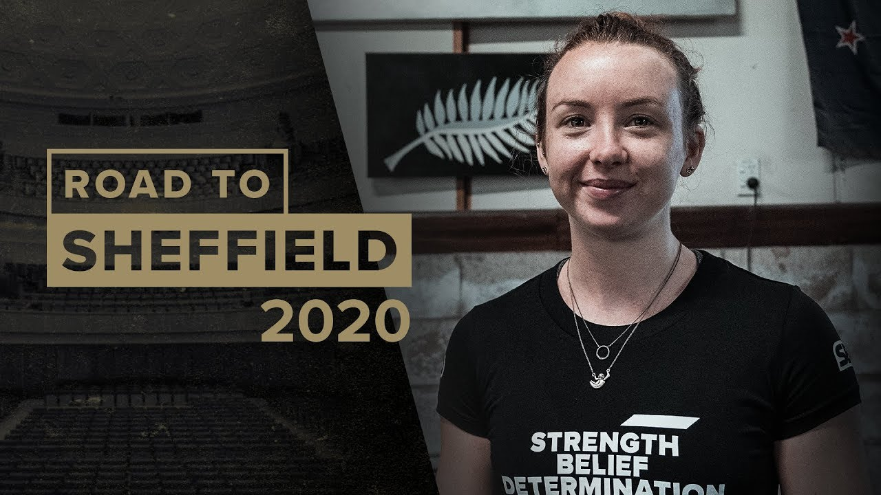 Road to Sheffield 2020 - Evie Corrigan
