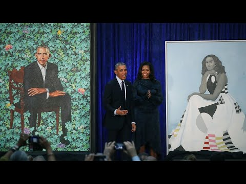 obamas'-official-portraits-have-been-unveiled