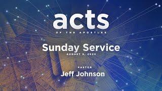 Sunday Service - August 9, 2020