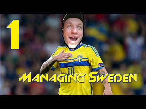 Managing Sweden | Road to the World Cup 2018 | Football Manager 2017 | #1 GETTING STARTED