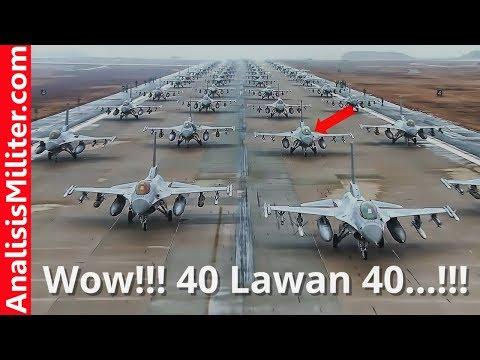 Indonesia Ikut, Pitch Black 2018 Laga Pesawat Tempur Modern di Australia